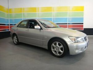 2000 Lexus IS200 GXE10R Sports Luxury Gold 4 Speed Automatic Sedan Wangara Wanneroo Area Preview