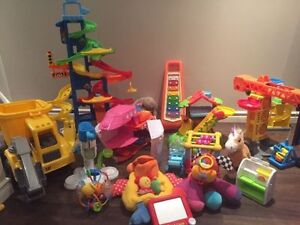 Large Lot of Children's toys