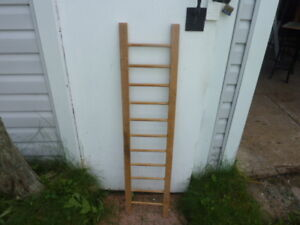 Small Wood Ladder