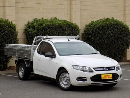 2012 Ford Falcon FG MkII EcoLPi Ute Super Cab White 6 Speed Automatic Utility Enfield Port Adelaide Area Preview