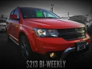 2017 Dodge Journey Crossroad AWD (Leather/Nav)