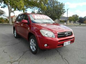 2006 Toyota RAV4 ACA33R Cruiser (4x4) Crimson 4 Speed Automatic Wagon Prospect Prospect Area Preview