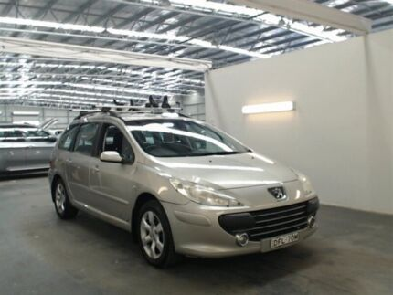2006 Peugeot 307 MY06 Upgrade XSE HDI 2.0 Touring Silver 6 Speed Manual Wagon