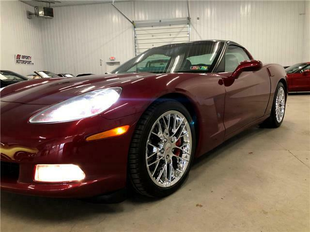 2006 Burgundy Chevrolet Corvette Coupe  | C6 Corvette Photo 8