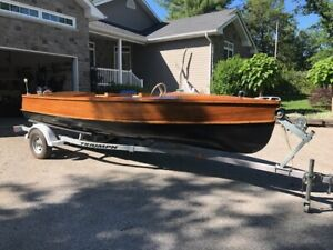 Giesler Wooden Boat - WOW! WOW! Fully Restored MUST-GO!!
