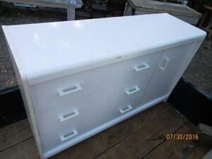 CLEARANCE Small white dresser 35.00