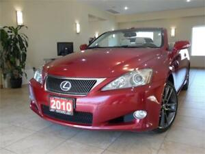 2010 Lexus IS 250C Convertible Navigation+Back-up Camera!