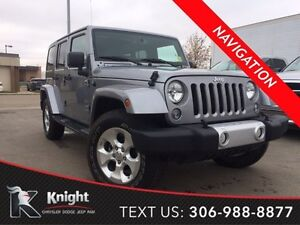 2015 Jeep Wrangler Unlimited Sahara *Navigation*