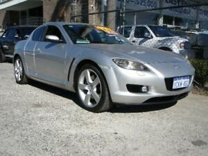 2006 Mazda RX-8 MY06 Silver 6 Speed Manual Coupe Wangara Wanneroo Area Preview