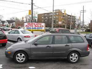 **2003 Ford Focus ZTW Wagon**  Certified & E-tested