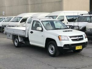 2011 Holden Colorado RC MY11 LX (4x2) White 5 Speed Manual Cab Chassis Revesby Bankstown Area Preview