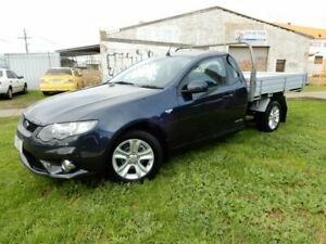 2010 Ford Falcon FG XR6 Super Cab Grey 4 Speed Sports Automatic Cab Chassis Moorabbin Kingston Area Preview
