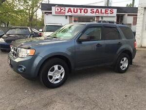 2010 Ford Escape XLT/LOW KM/Automatic/4 Cylinder/Certified