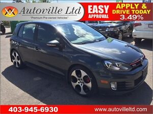 2010 Volkswagen Golf GTI LEATHER ROOF EVERYONE APPROVED!!