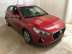 2017 Hyundai i30 PD Active Scarlet Red 6 Speed Auto Sequential Hatchback
