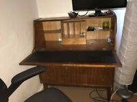 Vintage desk / storage unit