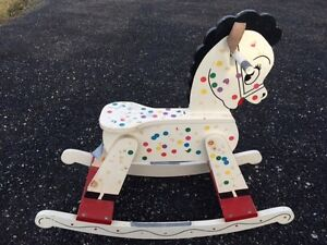 HOME MADE WOODEN ROCKING HORSE Windsor Region Ontario image 1