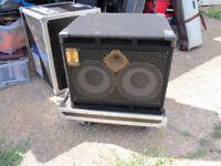 EDEN 2 X 10 XLT bass cab 4 Ohm ,flightcase available for it