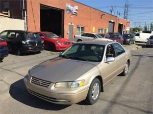1999 TOYOTA CAMRY- automatic- FULL EQUIPER- 4 CYL-  1100$