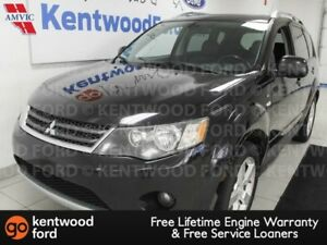 2009 Mitsubishi Outlander V6 Outlander with power leather seats