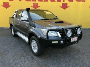 2014 Toyota Hilux KUN26R MY14 SR5 Double Cab Grey 5 Speed Automatic Utility Winnellie Darwin City Preview