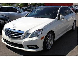 2010 MERCEDES E350 4MATICNAVI/XENON/PANORAMIC/CLEAN CARPROOF