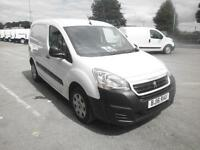 Peugeot Partner L1 850 1.6 Hdi 92 Professional Van DIESEL MANUAL WHITE (2016)