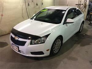 2012 Chevrolet Cruze Eco 1.4L, 4 Cyl, Manual Transmission