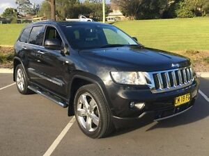 2011 Jeep Grand Cherokee WK MY2011 Overland Black 5 Speed Sports Automatic Wagon Lisarow Gosford Area Preview