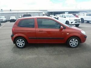 2009 Hyundai Getz TB MY09 SX Red 5 Speed Manual Hatchback Vincent Townsville City Preview