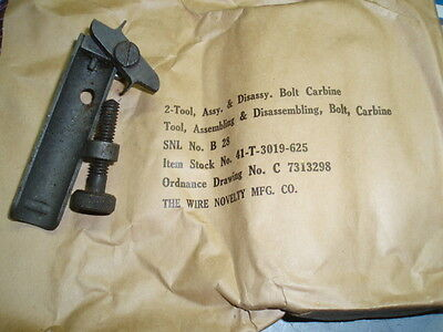 M1 carbine, assy. & disassy. bolt tool, WW2 (cd 5C1), used for sale  Italy