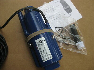 360 Gph Pump - 115V ECONOMY Cottage / Cabin: 360GPH  / 200ft Lift! Submersible well water pump.