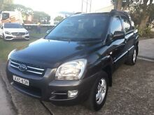 2005 Kia Sportage KM (4x4) Black 4 Speed Tiptronic Wagon Macquarie Hills Lake Macquarie Area Preview