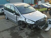 BREAKING FOR PARTS FORD GALAXY 2012 ZETEC 1.6 PETROL 182 BHP IN MOONDUST SILVER
