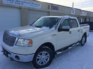 2007 Ford F-150 LARIAT-SUPER CREW-LEATHER-LOADED-ALLOYS