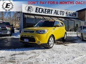 2015 Kia Soul EX+ ECO  DON'T PAY FOR 6 MONTHS OAC!!