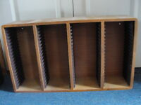 2 wall mount cd storage units