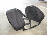 Motorcycle Saddle Bags for Crotch Rocket or Dual Sport