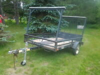 4.5 x8 UTILITY TRAILER WITH RAMP
