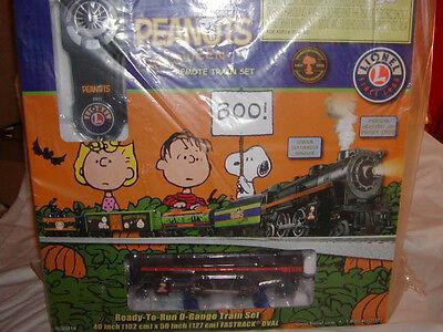 Lionel 6-30214 Peanuts & Gang Halloween Train Set MIB O 027 New 2013 RC 2-4-2 - Lionel Peanuts Halloween