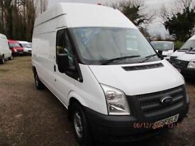 2012 Ford Transit 2.2TDCi NO VAT 90000 MILES HI ROOF GUARANTEED 350 LWB
