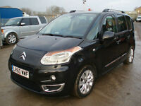 Citroen C3 Picasso 1.6HDi 8v  Exclusive ( REG: LR60WWF ) DAMAGED SALVAGE
