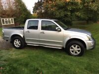 Isuzu Rodeo Denver TD in-cool A pick up in silver