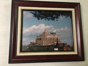 Saint John General Hospital (professional picture framed)