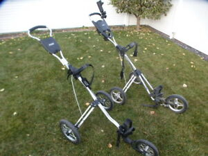 BagBoy 3 wheel push/pull golf cart in excellent condition