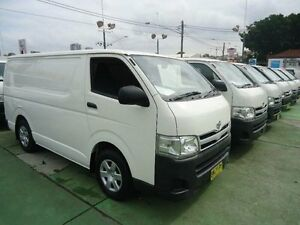 2011 Toyota Hiace TRH201R MY11 Upgrade LWB White 4 Speed Automatic Van Canada Bay Canada Bay Area Preview