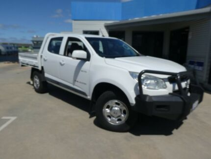 2012 Holden Colorado RG MY13 LX Crew Cab Summit White 6 Speed Sports Automatic Cab Chassis