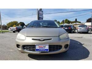 SALE!! 2002 CHRYSLER SEBRING LX! E-TESTED AND CERTIFIED!!