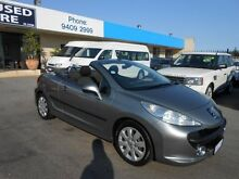 2007 Peugeot 207 CC 1.6 Abyss Grey 4 Speed Manual Cabriolet Wangara Wanneroo Area Preview