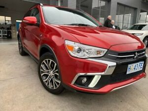 2017 Mitsubishi ASX XC MY18 LS 2WD Red 6 Speed Constant Variable Wagon North Hobart Hobart City Preview